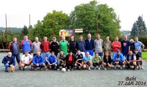 Nohejbal putovní pohár 2014